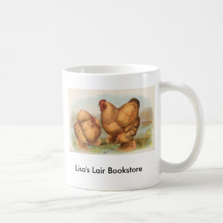 Graham - Buff Cochin Chickens Bookstore Promo Coffee Mug