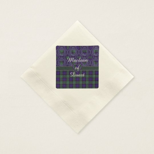 Graham clan Plaid Scottish tartan Paper Napkin