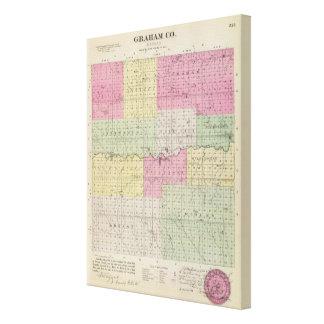 Graham County, Kansas Canvas Prints