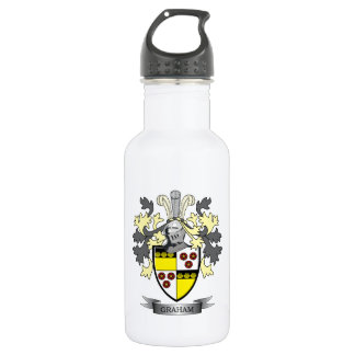 Graham Family Crest Coat of Arms 532 Ml Water Bottle