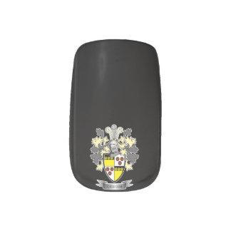 Graham Family Crest Coat of Arms Minx Nail Art