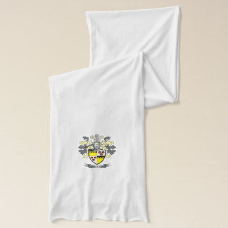 Graham Family Crest Coat of Arms Scarf