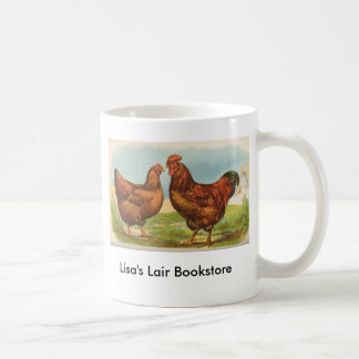 Graham - Rhode Island Red Chickens B/store Promo Coffee Mug