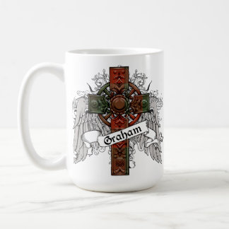 Graham Tartan Cross Coffee Mug