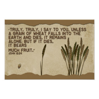 Grain of Wheat Poster