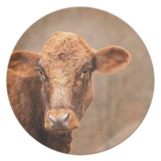 Grain Time Cow Plate