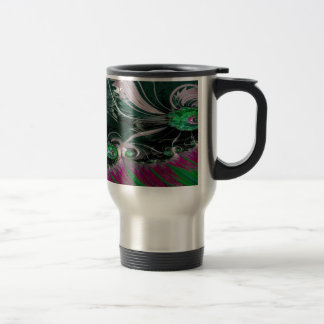 Grained Festiveness Fractal 3 Travel Mug