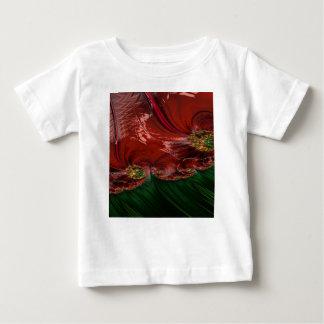 Grained Festiveness Fractal 6 Baby T-Shirt