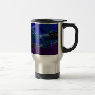 Grained Festiveness Fractal 7 Travel Mug