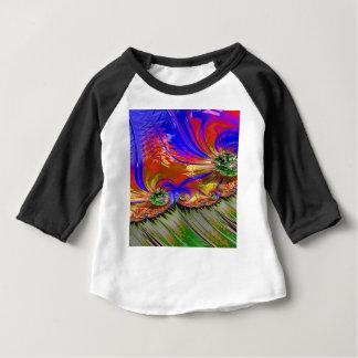 Grained Festiveness Fractal 8 Baby T-Shirt
