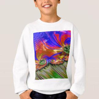 Grained Festiveness Fractal 8 Sweatshirt