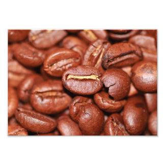 Grains de café rôtis photographe