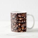 Grains de café tasse à café