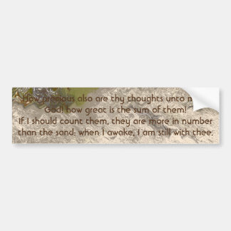 Grains of Sand Bumper Sticker