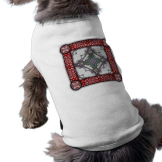 Grainy Elegant Design Dog Tee Shirt