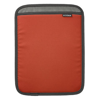 Grainy Warm Red Background iPad Sleeve