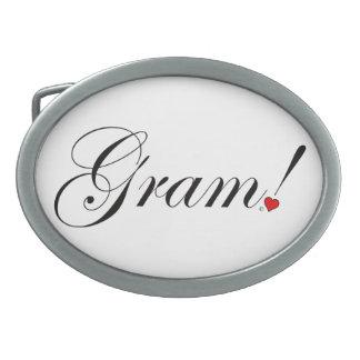 Gram! Belt Buckle