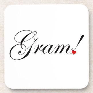 Gram! Coaster