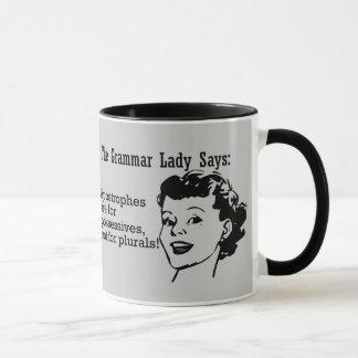 Grammar Lady Apostrophes Mugs