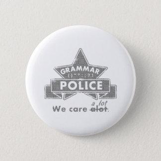 Grammar Police 2 Inch Round Button
