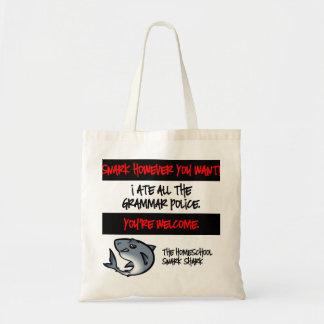 Grammar Police Budget Tote Bag
