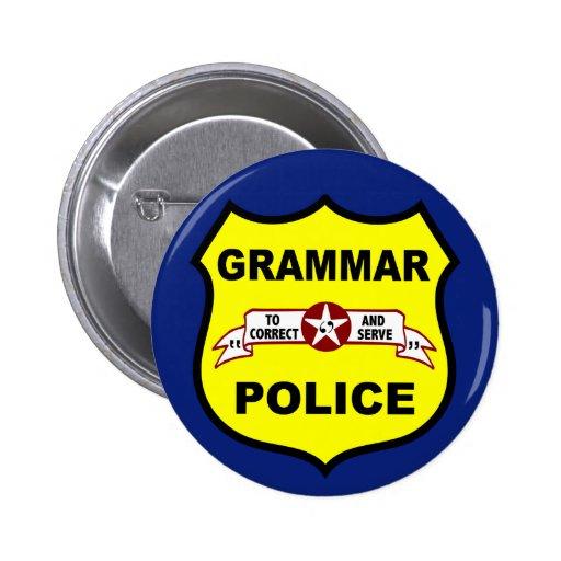 Grammar Police Button