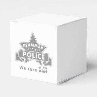 Grammar Police Favor Box