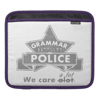 Grammar Police iPad Sleeve