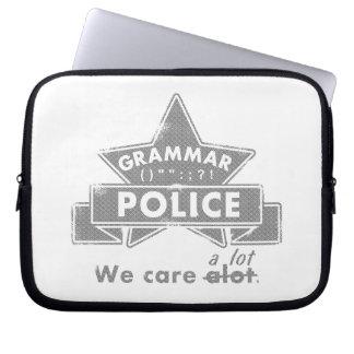Grammar Police Laptop Sleeve