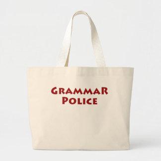 Grammar Police Large Tote Bag
