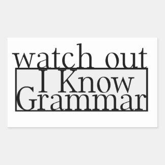 Grammar Sticker