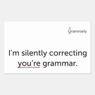 Grammar Stickers