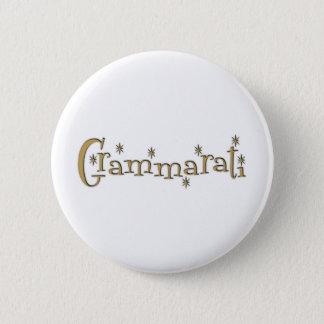 Grammaratti 2 Inch Round Button