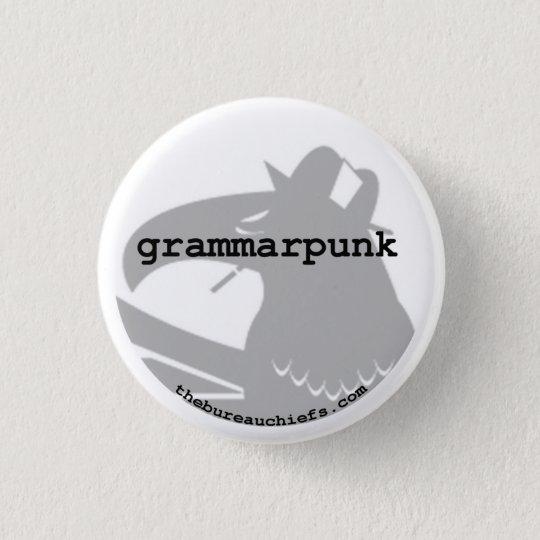 """Grammarpunk 1.25"""" Button"""