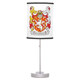 Grammer Coat of Arms II Desk Lamps
