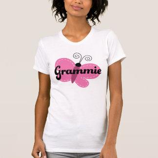 Grammie Pink Butterfly Gift Idea T Shirt