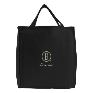 Grammie s embroidered bag