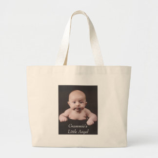 Grammie's Little Angel Large Tote Bag