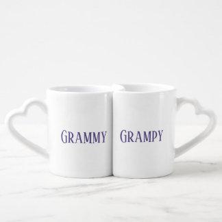 Grammy Grampy Ultra-Violet Coffee Mug Set