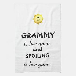 Grammy kitchen towel Grandma gifts