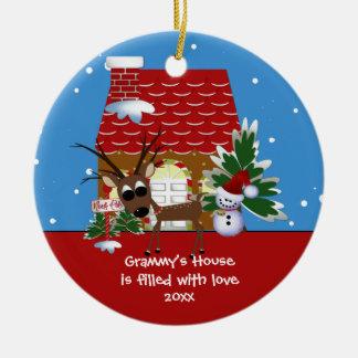 Grammy's Love House Christmas Ornament