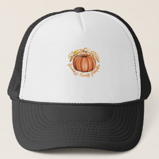 Grammys Pumpkin Trucker Hat