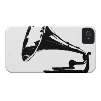 Gramophone Player Phone Case Case-Mate iPhone 4 Case