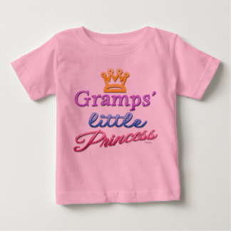 Gramps' Little Princess Baby Toddler T-Shirt