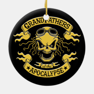 Gramps of the Apocalypse Ceramic Ornament