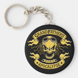 Gramps of the Apocalypse Keychain