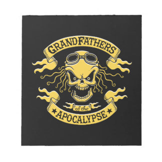 Gramps of the Apocalypse Notepad
