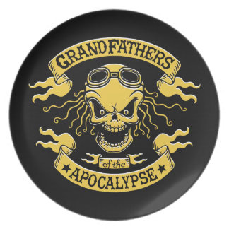 Gramps of the Apocalypse Plate
