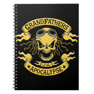 Gramps of the Apocalypse Spiral Notebook