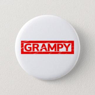 Grampy Stamp 2 Inch Round Button
